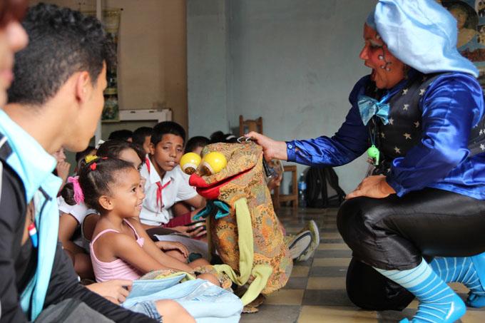 La jornada estuvo dirigida en especial a los infantes porque ellos serán responsables de la paz futura