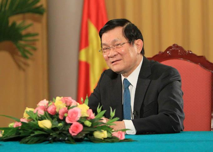 Truong Tan Sang, Presidente de la República Socialista de Vietnam