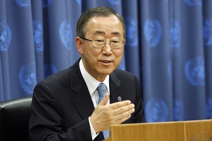 Ban Ki-moon califica al Papa de inspiración