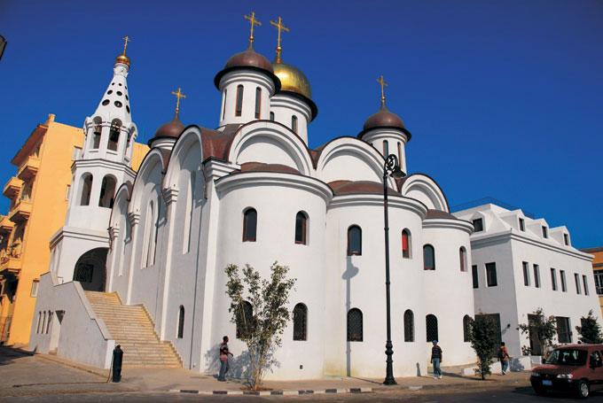 Iglesia ortodoxa rusa, de la Habana, una de los más recientes y novedosos modelos de las instituciones religiosas en la Cuba del siglo XX. / FOTO Tomada de internet