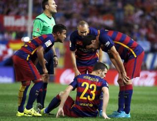 lescionados barcelona
