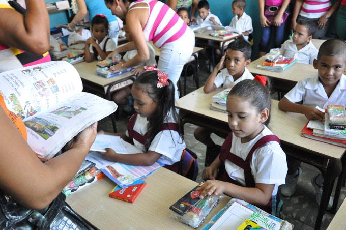 Cuba por una educación integral y de calidad