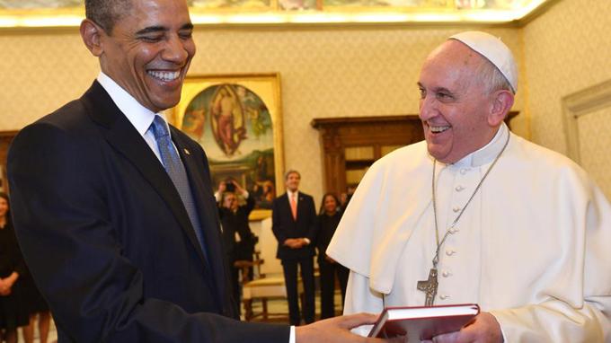Obama recibirá al papa Francisco en la Casa Blanca