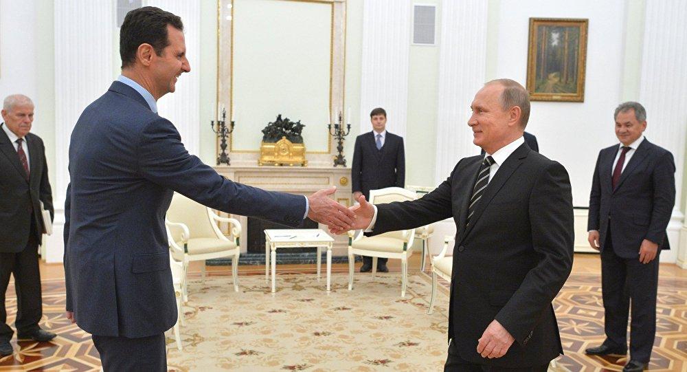 Asad y Putin