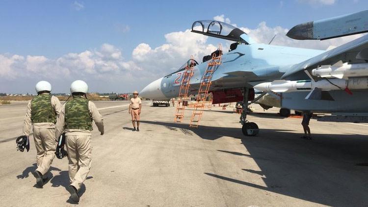 Aviación rusa en Siria
