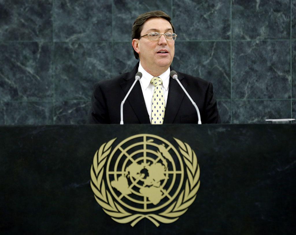 Canciller cubano en Naciones Unidas para votación contra bloqueo