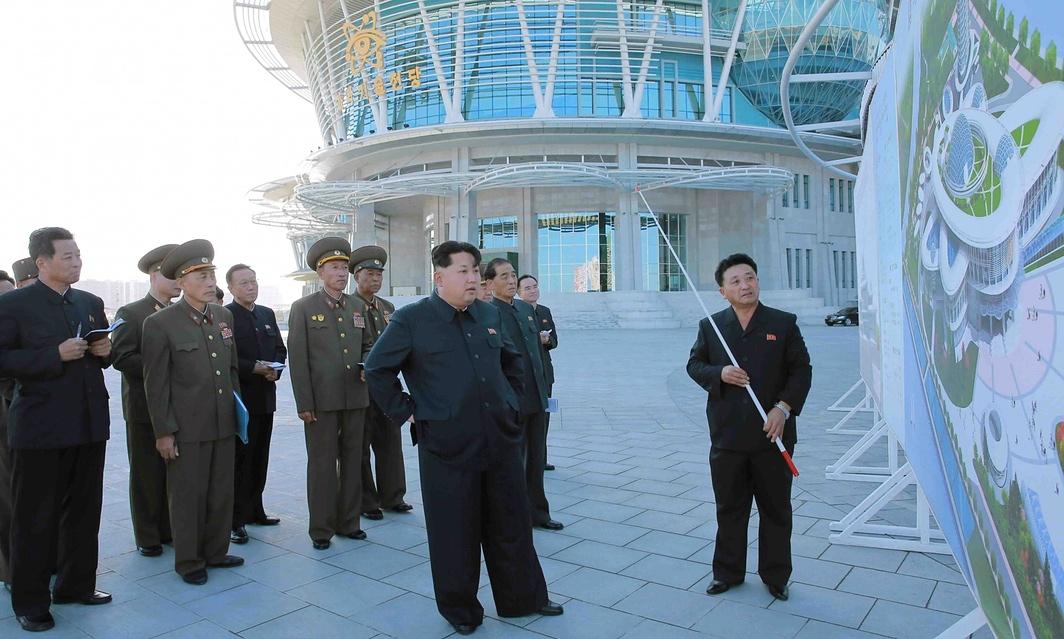Centro norcoreano de ciencia y tecnología 2