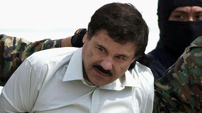 """""""El Chapo"""" Guzmán fue herido en la cara en un operativo de captura"""