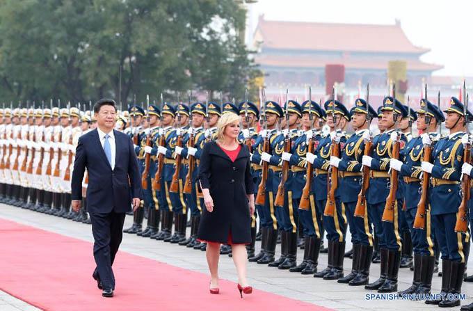China y Croacia prometen aprovechar potencial de cooperación e impulsar asociación