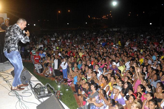 Concierto de Alain Daniel, Fiesta de la Cubanía 2015