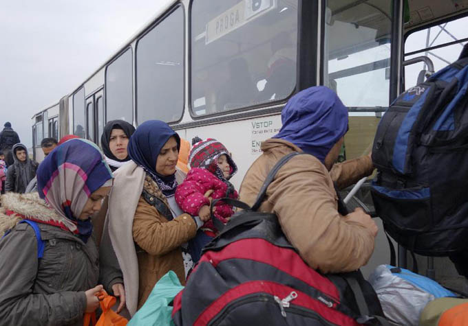 Más de 6.000 migrantes llegan hoy a Eslovenia