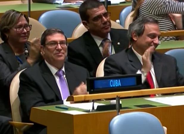 Contundente victoria de Cuba en la ONU