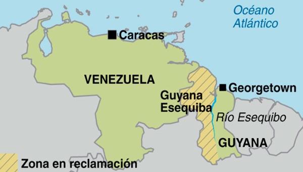 Diferendo territorial entre Guyana y Venezuela