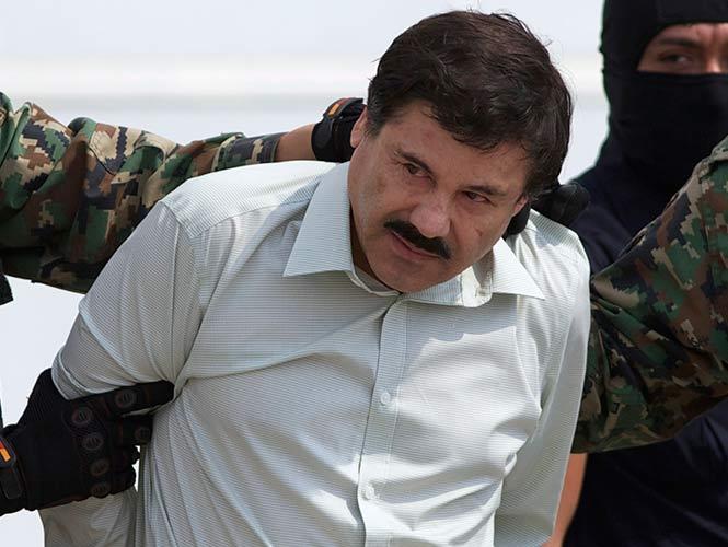 Desmantelan red de fuga de El Chapo