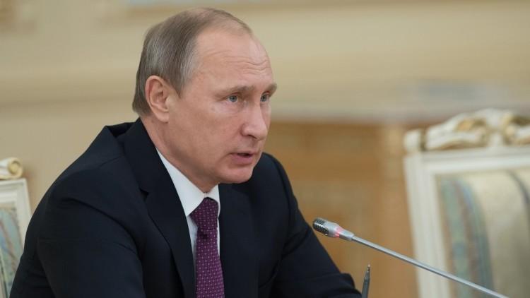 """""""La operación rusa en Siria tiene un límite temporal"""", Putin"""