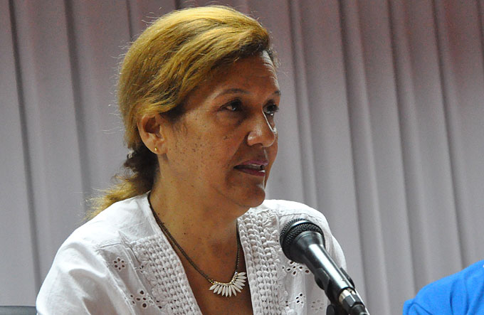 Elba Rosa Pérez Montoya, Ministra de Ciencia, Tecnología y Medio Ambiente (Citma) / FOTO Rafael Martínez Arias