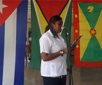 Estudiante de Guyana
