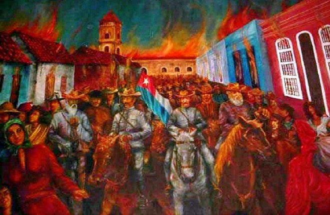 Guerra de Independencia, Cuba