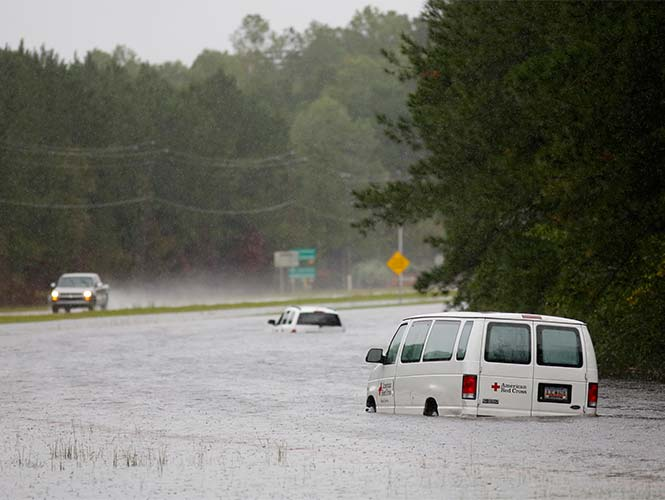Inundaciones, Estados Unidos