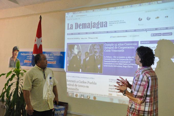 Inauguran sitio digital La Demajagua.cu