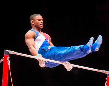 Cubano Larduet conquista plata en Mundial de gimnasia artística
