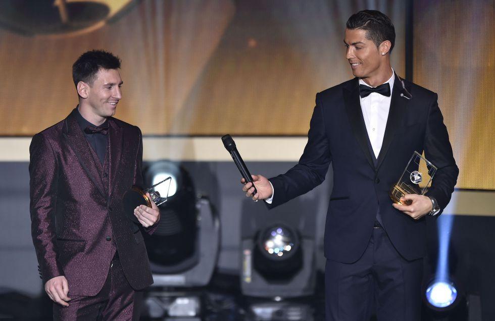 "Messi: ""Yo no compito con Cristiano ni él conmigo"""