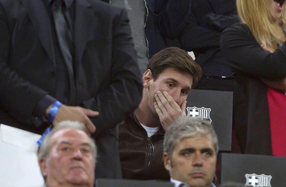 Messi abre la puerta del Barça para irse a Inglaterra en 2017