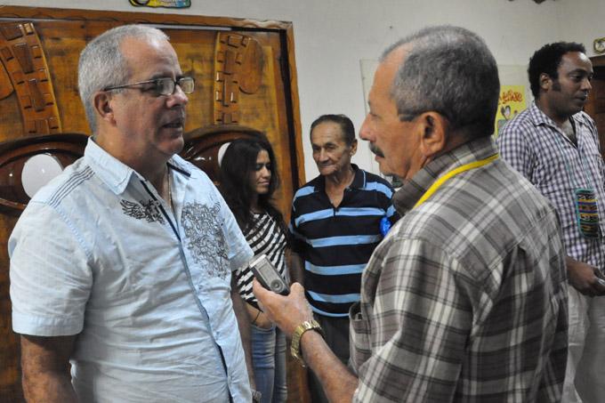 Elogia cineasta Alejandro Gil a la Fiesta de la Cubanía