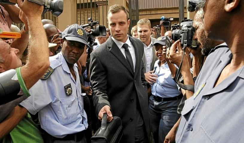 Pistorius sale de prisión
