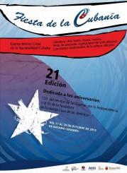 Poster Fiesta de la Cubanía