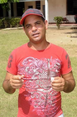 Baldoquín reconoce que para mejorar el cuarto lugar del último curso, el equipo de su escuela tendrían que salir airoso en toda la eliminatoria hasta ganar la competencia provincial / FOTO Luis Carlos Palacios Leyva