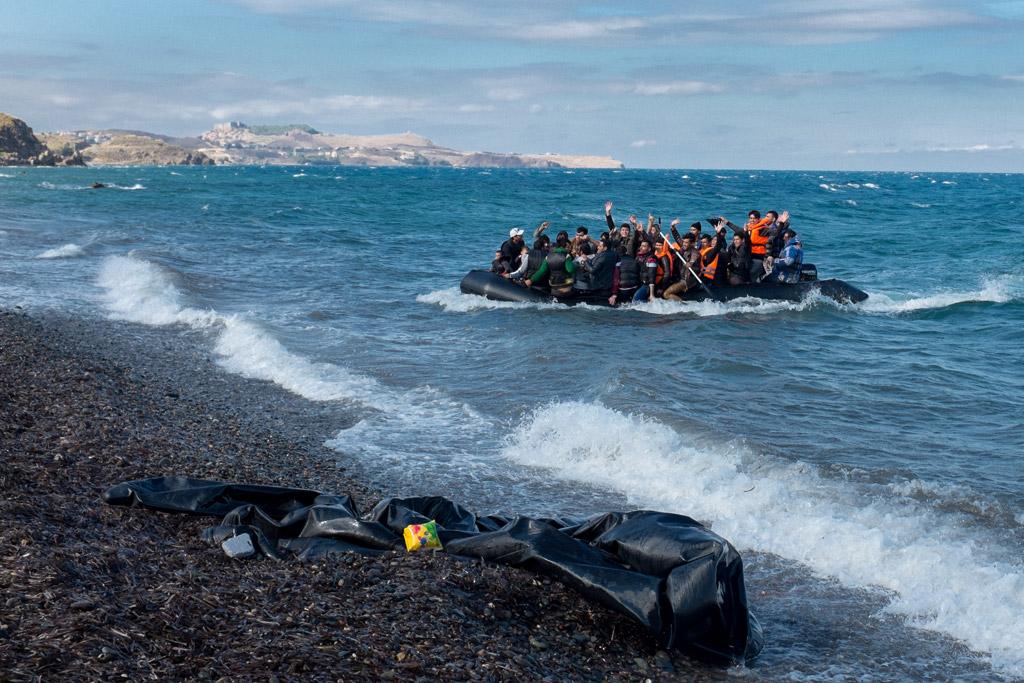 Refugiados en Gracia