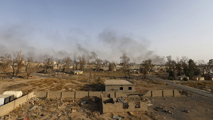 La Fuerza Aérea de Rusia destruye el lugar de encuentro de los líderes terroristas en Siria