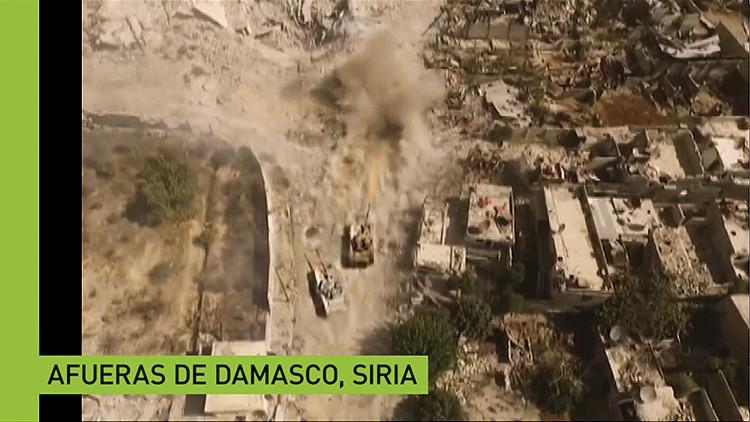 Impresionante video ruso de Siria a vista de dron