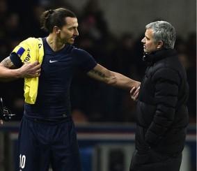Slatan y Mourinho