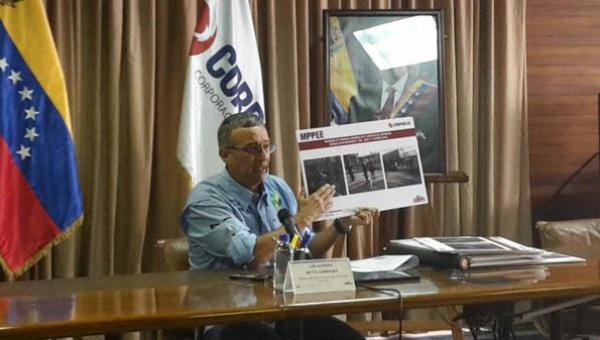 El ministro venezolano, Luis Motta Domínguez, denunció que los ataques pretenden desestabilizar los comicios parlamentarios del 6 de diciembre.