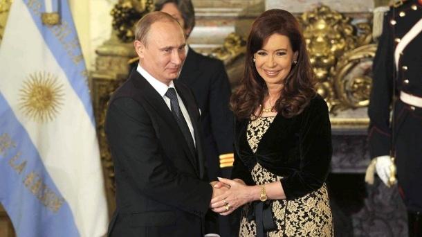 Asegura Cristina Fernández fortalecimiento de nexos con Rusia
