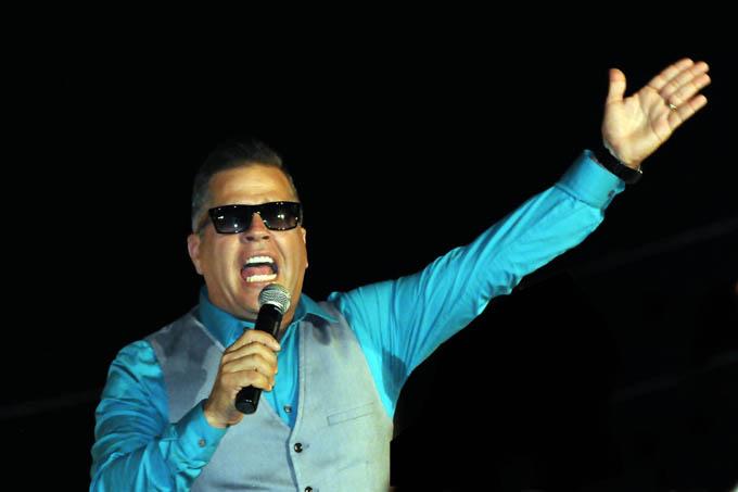 Will Campa y la Gran unión ganaron el beneplácito del público de Pilón, en la noche apertura del Carnaval / FOTO Luis Carlos Palacios
