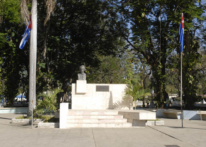 En el lugar que hoy ocupa el Parque Carlos Manuel de Céspedes aconteció el combate de Yara / FOTO Archivo Luis Carlos Palacios Leyva