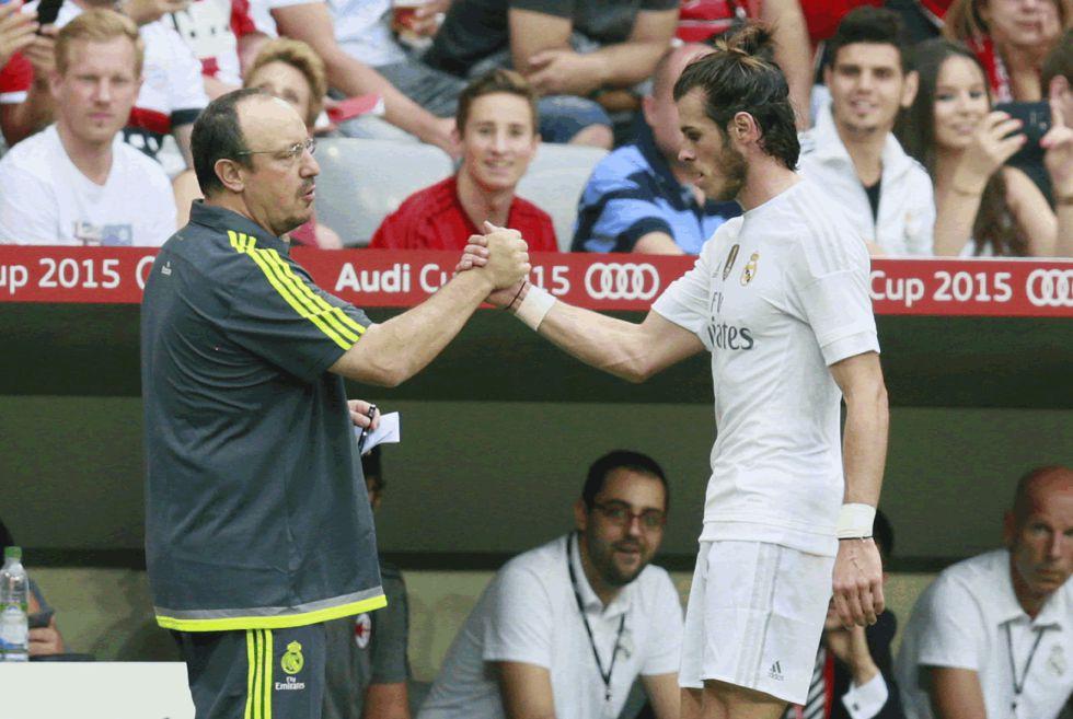 La SER: Benítez llamó a Bale para forzar la paz con Cristiano