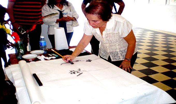Pintora uruguaya expondrá, por vez primera, en Fiesta de la cubanía bayamesa