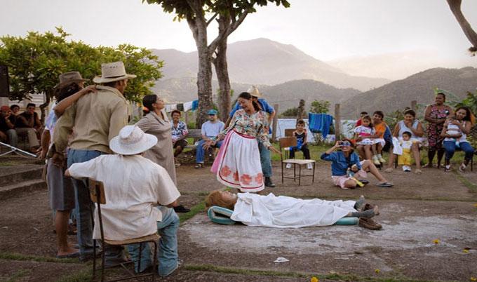 Guerrilla de teatreros reedita la ruta de Céspedes