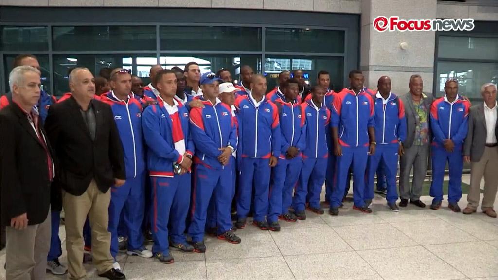 Arribo del equipo Cuba de Béisbol a Korea 6