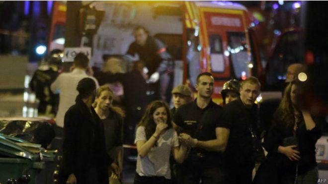 Ataque terrorista a Francia