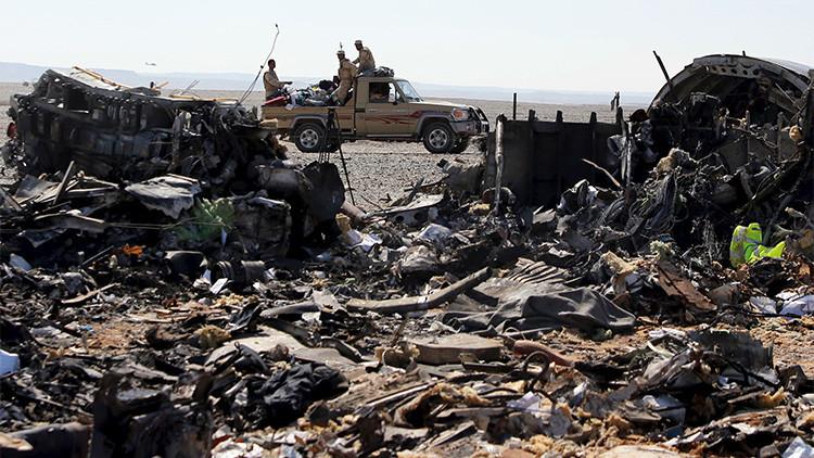 La caja negra del avión ruso confirma que sufrió una explosión en vuelo