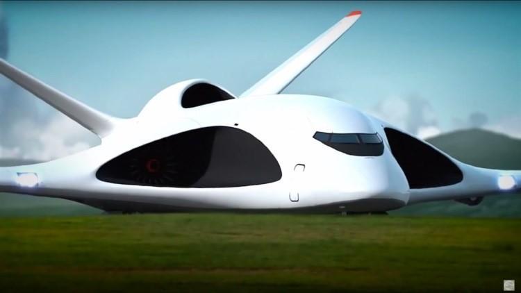 Rusia diseña un avión de transporte militar que no necesita pistas de aterrizaje