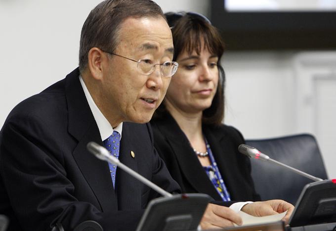 Ban Ki-moon conversa con mandatarios sobre cumbre climática