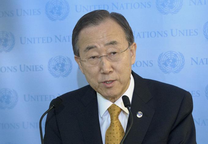 Secretario general de la ONU condena ataques terroristas en París