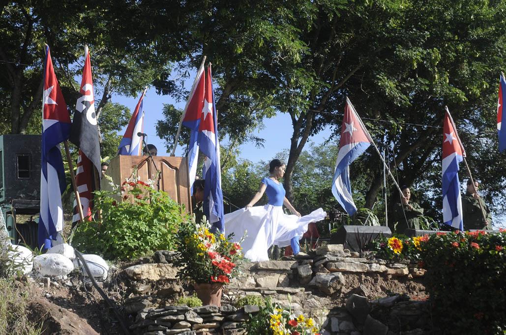 Recuerdan aniversario 57 de la Batalla de Guisa