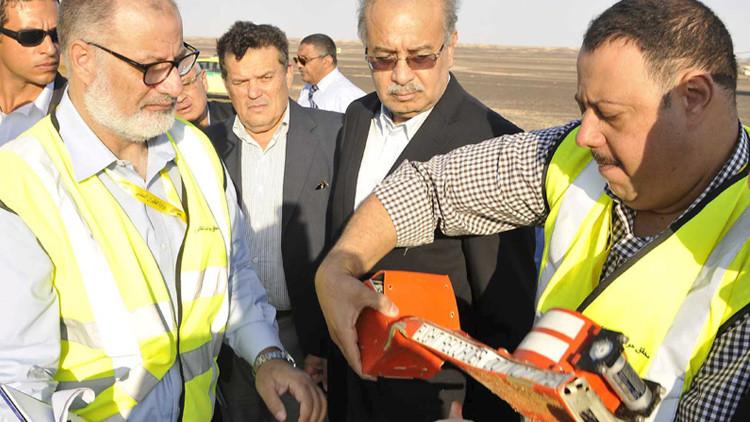 Ya se conocen los primeros datos de las cajas negras del A321 siniestrado en Egipto
